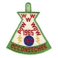 Occoneechee eX1965-1
