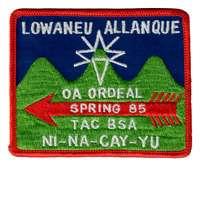 Lowaneu Allanque eX1985-1
