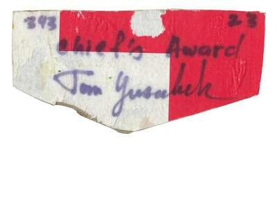 Woapeu Sisilija F-CHIEFS AWARD (Cardboard)