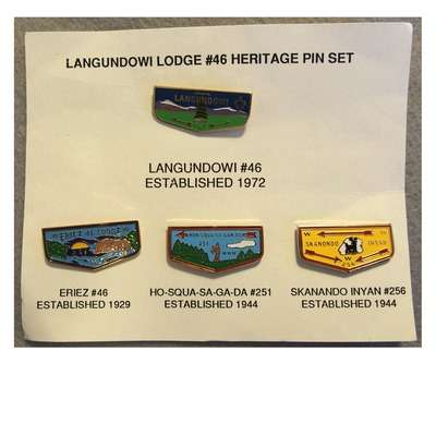 Langundowi Heritage Pin Set