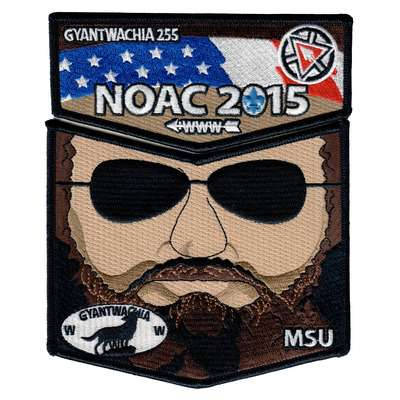 "Gyantwachia 2015 NOAC Fundraiser ""Mountain Man"" Set 2"