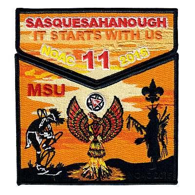 Sasquesahanough 2015 NOAC Trader Set