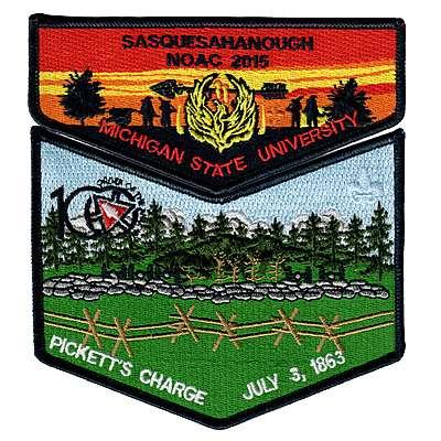 Sasquesahanough 2015 NOAC - Gettysburg Set - Pickett's Charge