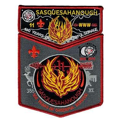 Sasquesahanough 2015 Centennial Set